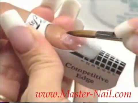 Инструкция наращивание ногтей акрилом инструкция