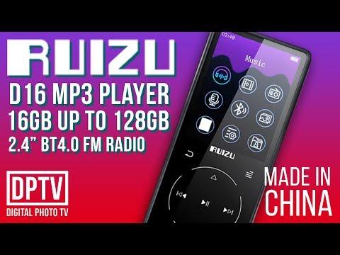 RUIZU D16 MP3 FLAC PLAYER 16GB | ЛУЧШИЙ БЮДЖЕТНЫЙ HI FI ПЛЕЕР
