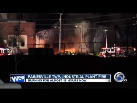 11: Painesville plant fire