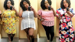 RAINBOW  | PLUS SIZE TRY-ON! | INSIDE THE DRESSING ROOM | 2017