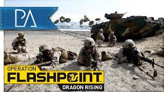 EPIC BEACH LANDING - Operation Flashpoint: Dragon Rising Gameplay