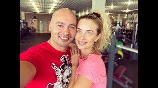 Кристина Ослина и Андрей Черкасов. Мы спортивная семья))