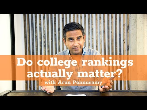 Do College Rankings Actually Matter?