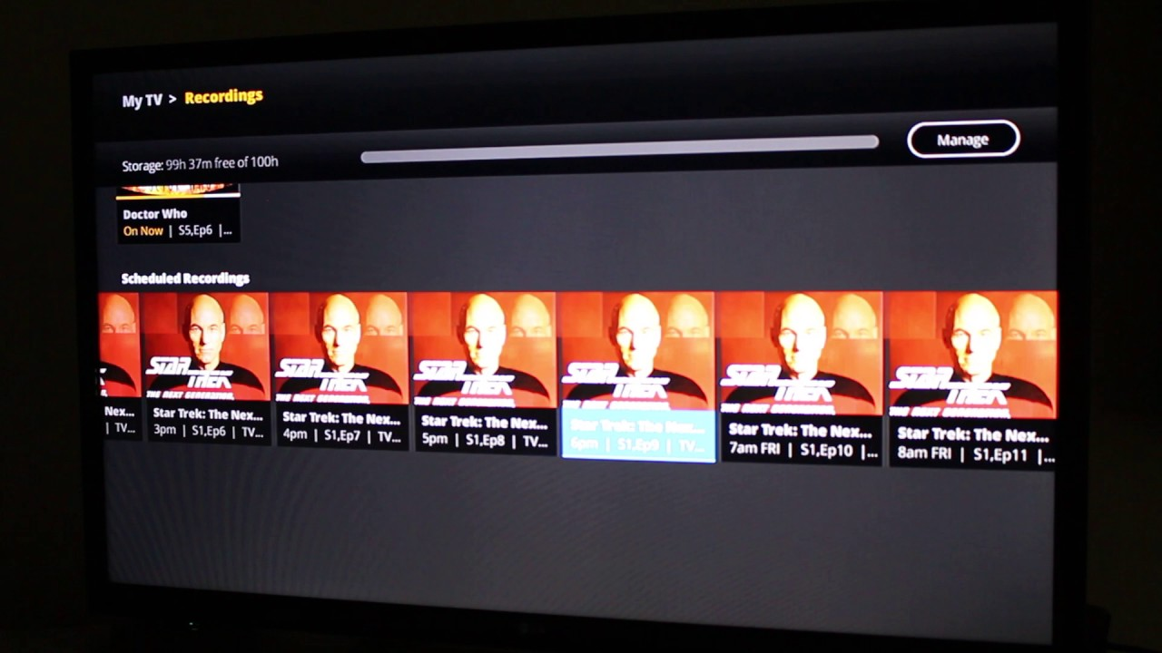 how to use sling cloud dvr