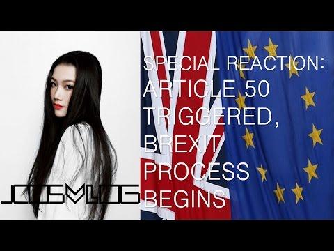 JCOSVLOG - SPECIAL REACTION: ARTICLE 50 TRIGGERED, BREXIT PROCESS BEGINS UNTIL 2019