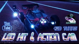 generation x 1 8 reely 4wd led kit action cam tuning