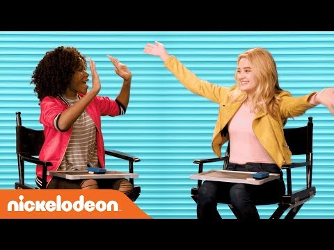 Lizzy Greene & Riele Downs in the Nick Stars BFF Challenge  Henry Danger & NRDD  Nick