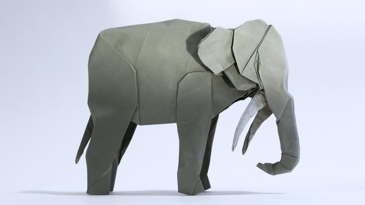 How to make an origami asian elephant youtube how to make an origami asian elephant jeuxipadfo Image collections