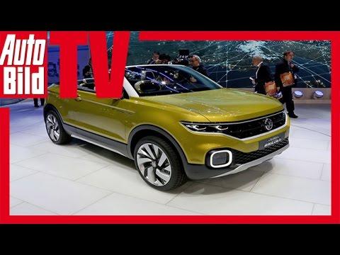 Vw Suv Polo >> VW Polo T-Cross Breeze (Genf 2016) - Das SUV-Cabrio - YouTube
