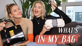What's In My Bag w/ Martha Hunt | Model's Off Duty, CBD, & VS Angel Must Haves | Sanne Vloet