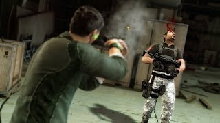 Splinter Cell Conviction Stealth Kills & Takedowns Gameplay - Price Airfield