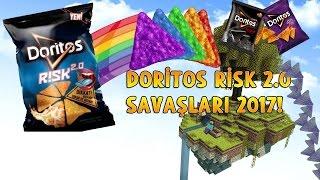 DORİTOS RİSK 2.0 GÖKYÜZÜ SAVAŞLARI! - Minecraft Doritos Risk 2.0 DÜNYASI