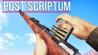 Post Scriptum ALL Weapons Showcase