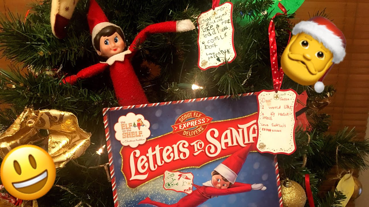 Unboxing Elf On The Shelf Letters To Santa Vlogmas Ireland  Youtube