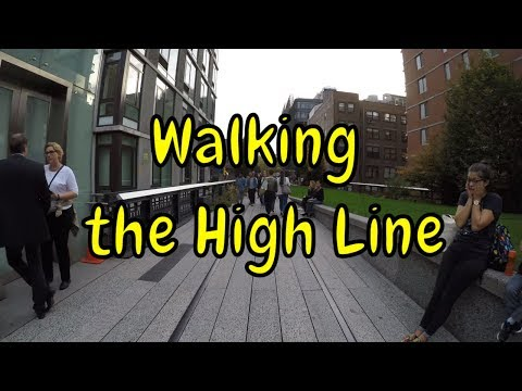 ⁴ᴷ Walking Tour of The High Line Park in its entirety from 34th Street to the Meatpacking District