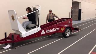 Wheaton Warrenville South Hosts Teen Driver Safety Fair