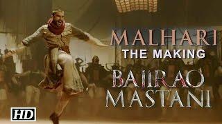 Malhari – The Making with Ranveer Singh | Bajirao Mastani