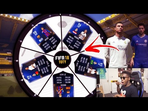 UNLIMITED TOTY PLAYERS IN A FIFA 18 GAME MODE !!! (FIFA 17 Spin the wheel)