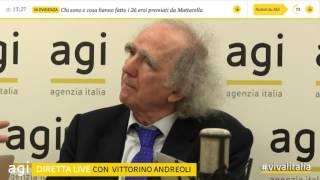 2017 feb 2 - Vittorino Andreoli intervistato dall'agenzia Agi