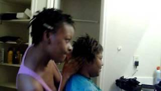 Hairdresser deluxe scalp massage.MOV
