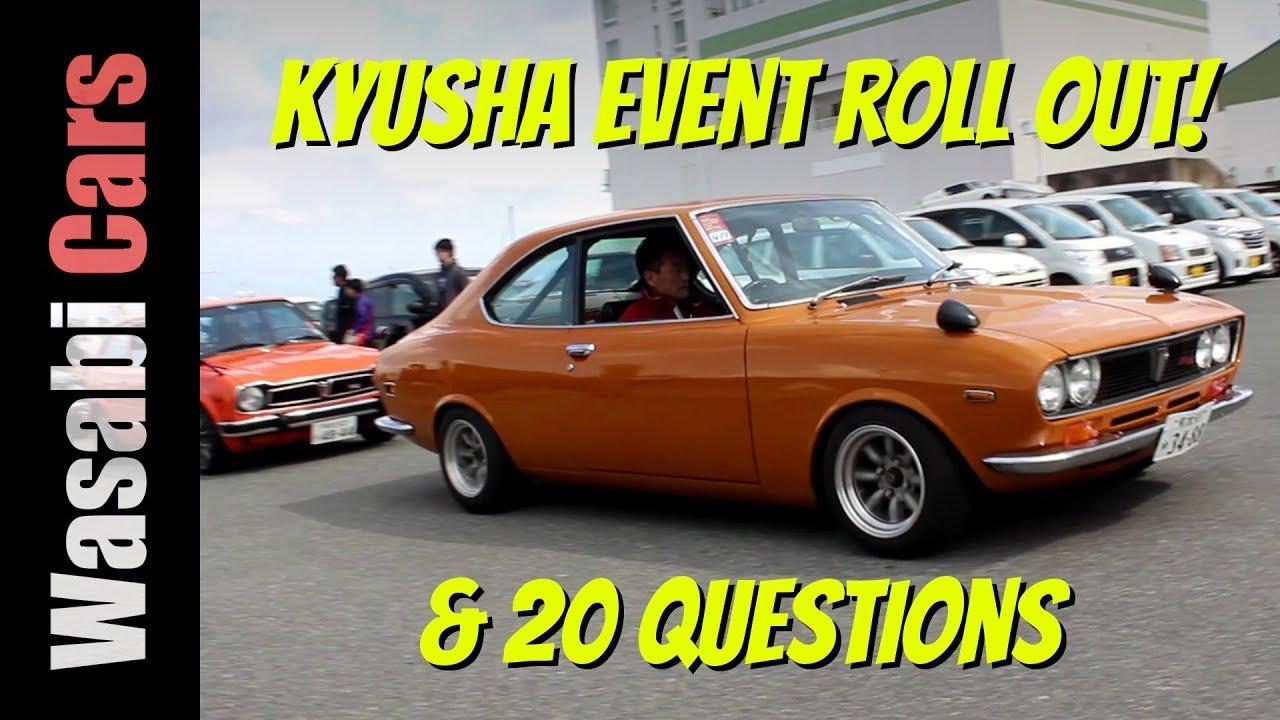 20 Questions / Old-School Car Show Roll Out - Marinoa City (Fukuoka)