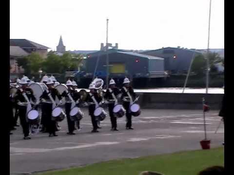 Royal Marines Band at Armed Forces Day Chatham 2011