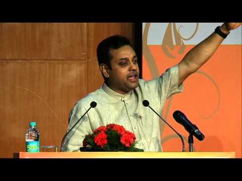 Dr Sambit Patra,National Spokesperson BJP,addressing Chinmaya Mission at Amity University