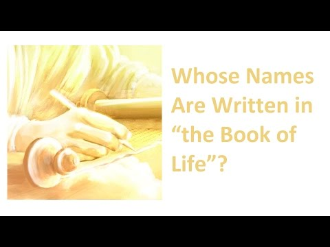 """Whose Names Are Written in """"the Book of Life""""?"""
