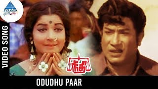 Needhi Tamil Movie Songs | Oduthu Paar Video Song | Sivaji Ganesan | Jayalalitha | MSV