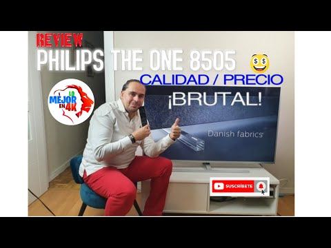 PHILIPS 2020 The One 8505 REVIEW - Menus Android - Una gama media BRUTAL para Black Friday 1ºParte