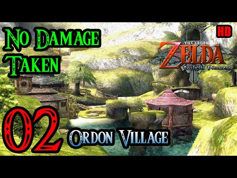 Zelda Twilight Princess Wii 100% Walkthrough 1080p HD Part 2 - Ordon Village | Catching A FIsh