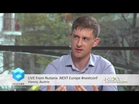 Sammy Bogaert, Delen Private Bank   #nextconf   Nutanix  Next Europe   #theCUBE