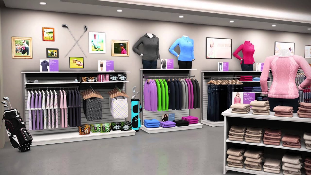 Studio Store Visualizer: Fashion Store Demo - YouTube