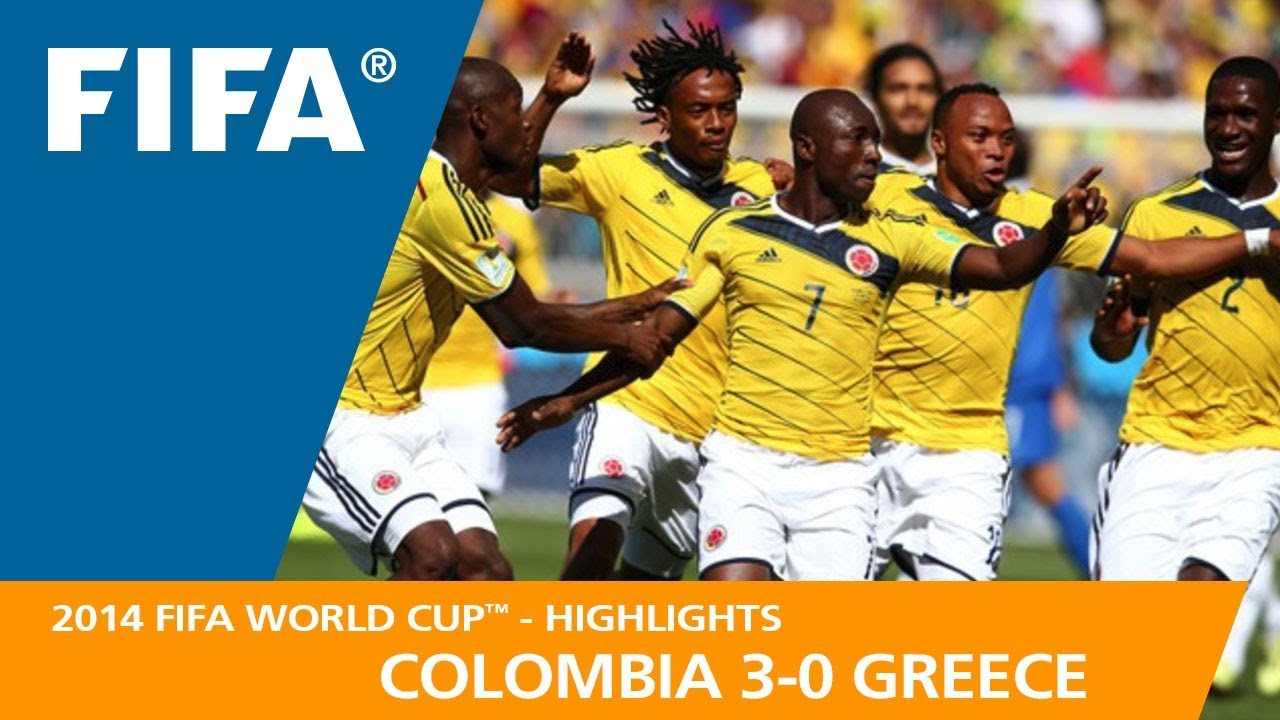 b2814864075 COLOMBIA v GREECE (3 0) - 2014 FIFA World Cup™ - YouTube