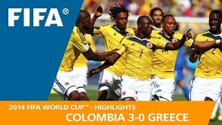 COLOMBIA v GREECE (3:0)  -  2014 FIFA World Cup™
