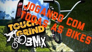 Touchgrind BMX-O melhor jogo de bike para android