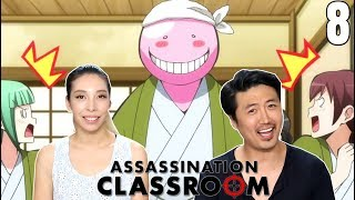 Last Day of Field Trip! Assassination Classroom Episode 8 REACTION!