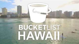 Bucket List Hawaii