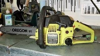Fuel Line Configuration Poulan Chainsaw