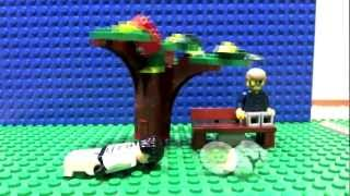 Lego Star Wars Storm Troopers Mayhem in Park - Lego Car Crash Micro Brick Film