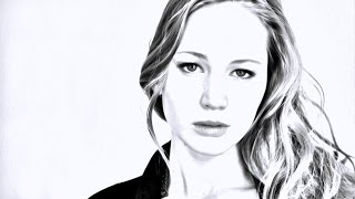 Эффект рисунка в Photoshop [Drawing Effect]