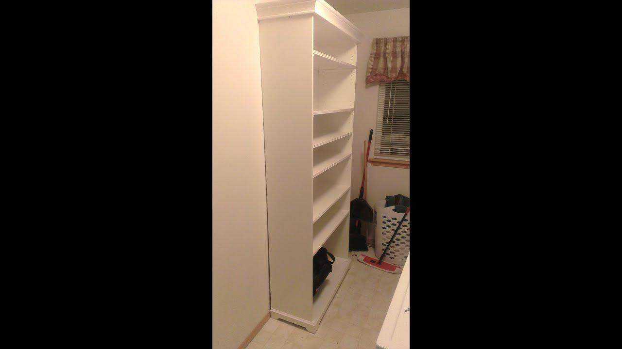 ikea diy assemble liatorp shelving unit youtube. Black Bedroom Furniture Sets. Home Design Ideas