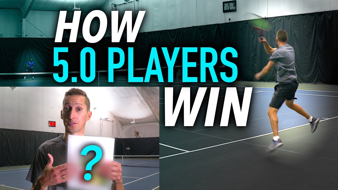 THIS Is How 5.0 Tennis Players Win Matches! (full match footage)