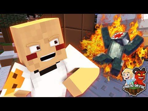 KILLING SQUID - Minecraft Friend Or Foe #8