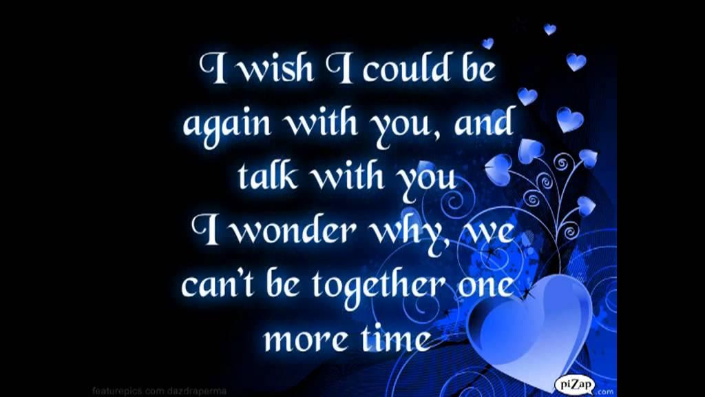 I wonder as i