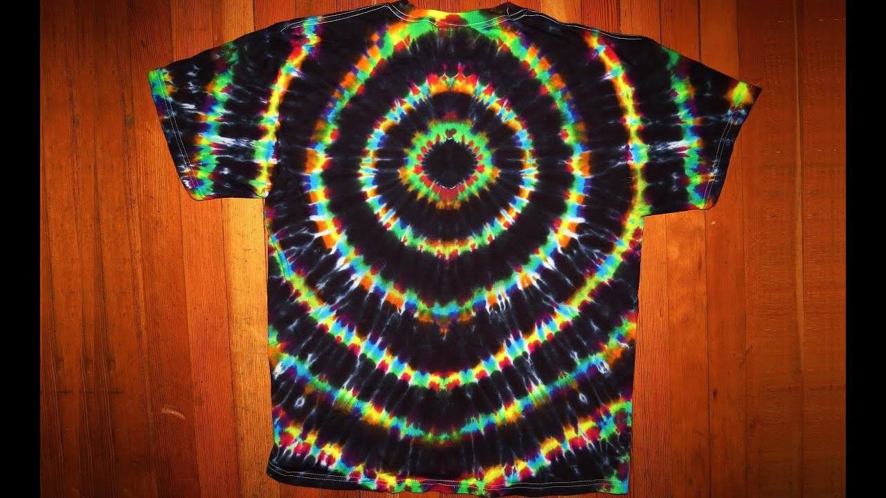 Secrets of tie dye the black hole part ii youtube for Making a tie dye shirt