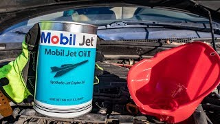 We Put JET OIL In a Honda!