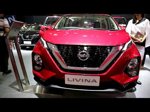 New Nissan Livina 2019, Red Colour ,Exterior And Interior