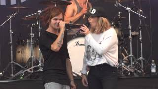 The Rasmus feat. Anette Olzon - October & April - Kivenlahti Rock 6.6.2014