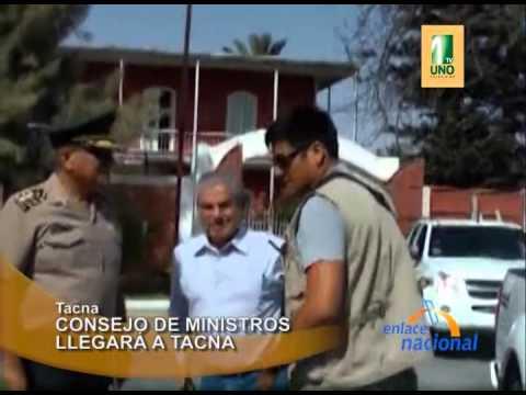 Tacna: Concejo de ministros llegará a Tacna presidida por Ollanta Humala